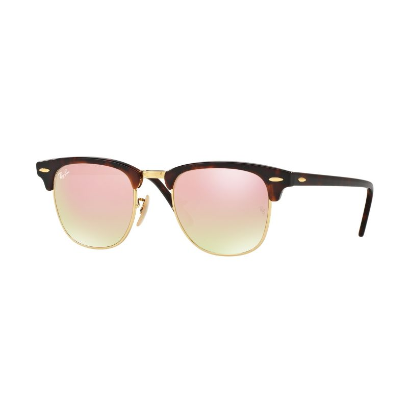 Mens Ray-Ban Clubmaster Fleck Sunglasses RB3016-990/7O-51