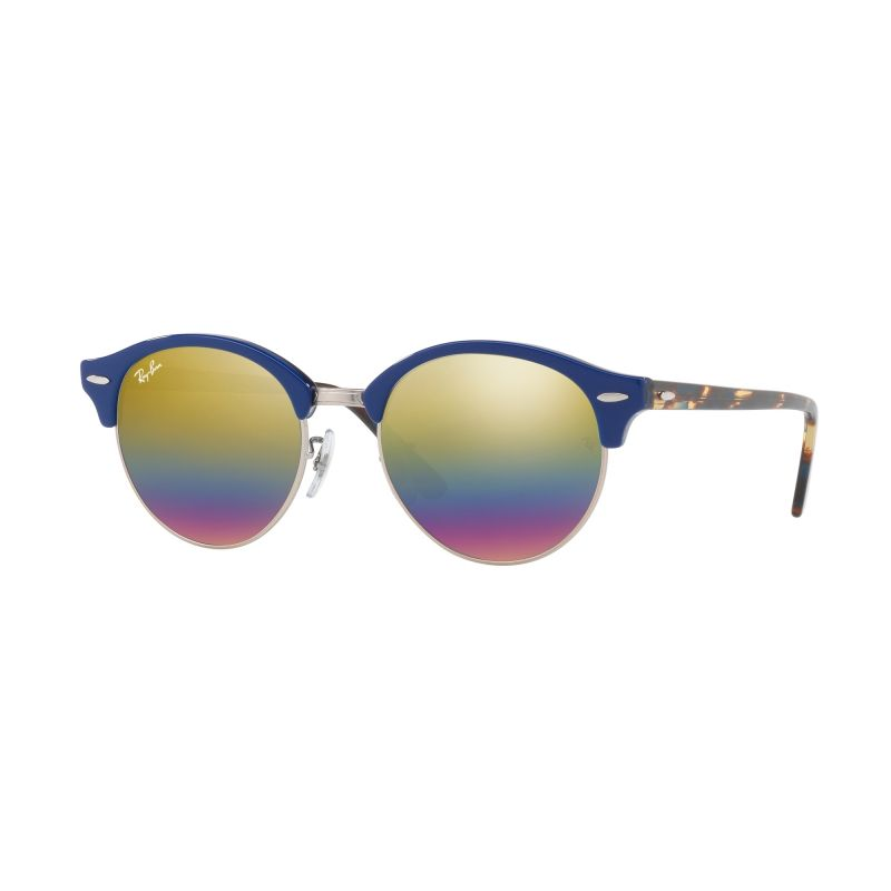 Ray-Ban Clubround Mineral Flash Sunglasses RB4246-1223C4-51