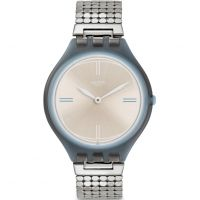 Swatch Skinscreen Small Unisexklocka Silver SVOM101GB