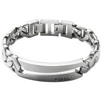 Mens Fossil Stainless Steel Bracelet JF84283040