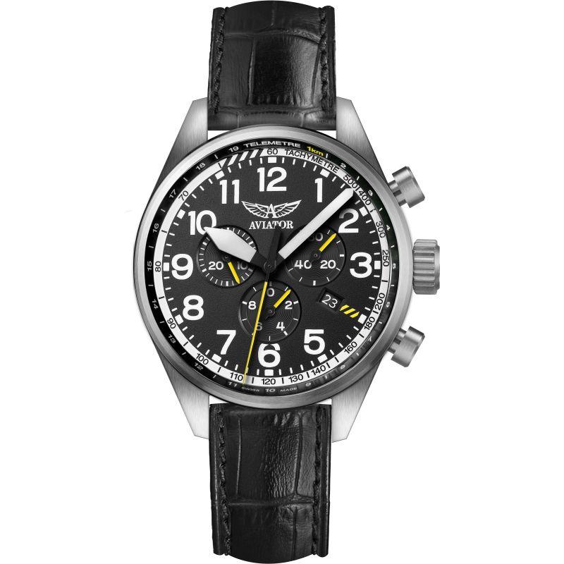 Mens Aviator Airacobra P45 Chronograph Watch