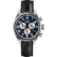 Herren Aviator Airacobra P45 Chronograph Watch V.2.25.0.170.4
