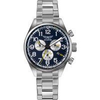 Herren Aviator Airacobra P45 Chronograph Watch V.2.25.0.170.5