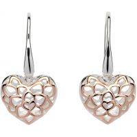 femme Unique & Co Filigree Heart Drop Earrings Watch ME-607
