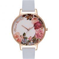 Damen Olivia Burton Blume Show Uhr