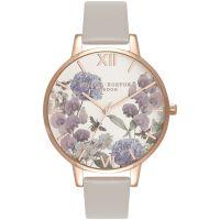 Ladies Olivia Burton Parlour Floral Print Watch