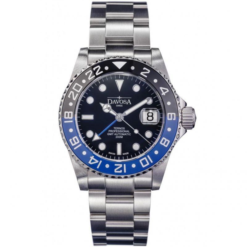 Mens Davosa Ternos Professional TT GMT Automatic Watch