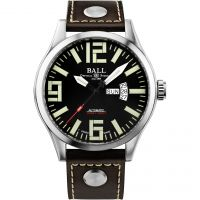 Ball Engineer Master II Aviator Herrklocka Brun NM1080C-L14A-BK