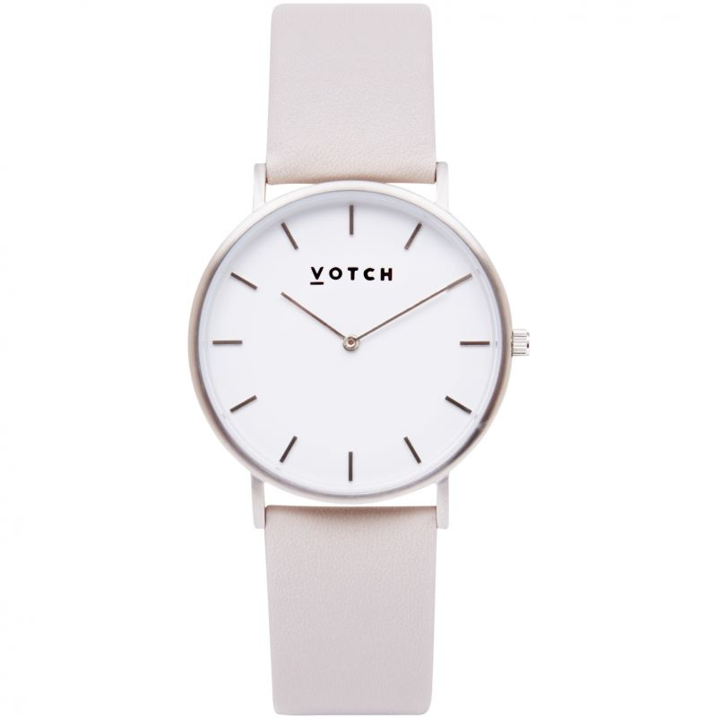 Unisex Votch The Light Grey and Silver 38mm Watch
