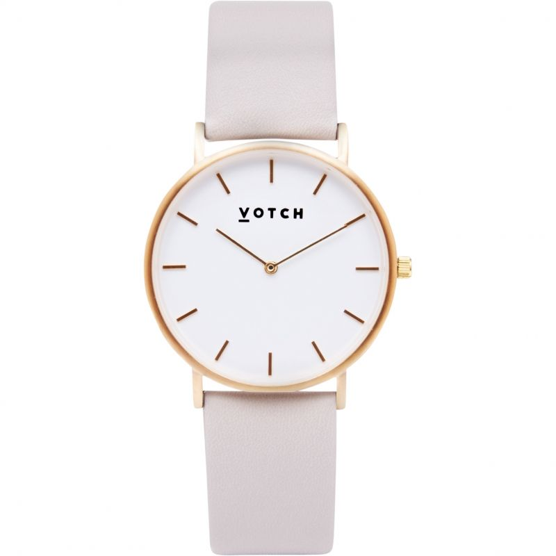 Unisex Votch The Light Grey and Gold 38mm Watch
