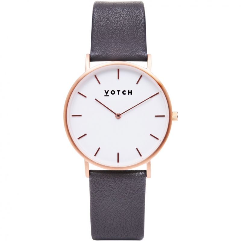 Ladies Votch The Dark Grey and Rose Gold 38mm Watch