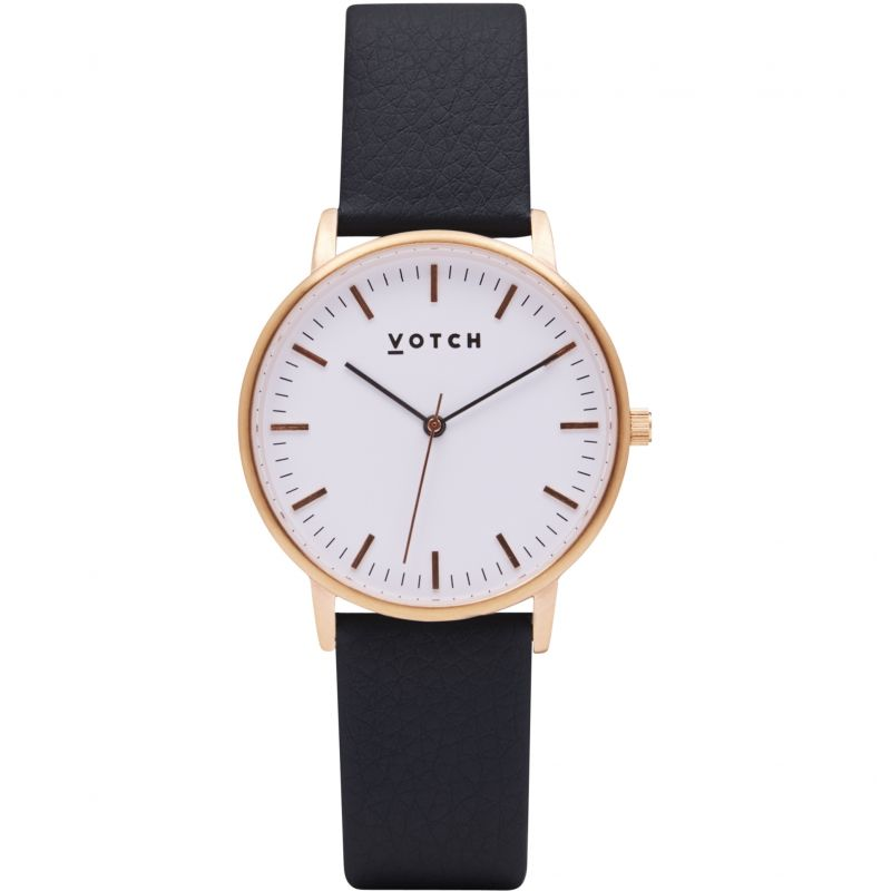Ladies Votch The Rose Gold And Black 36mm Watch