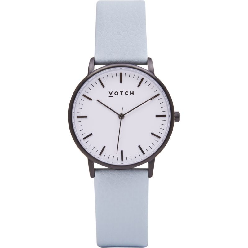 Ladies Votch The Black And White And Light Blue 36mm Watch
