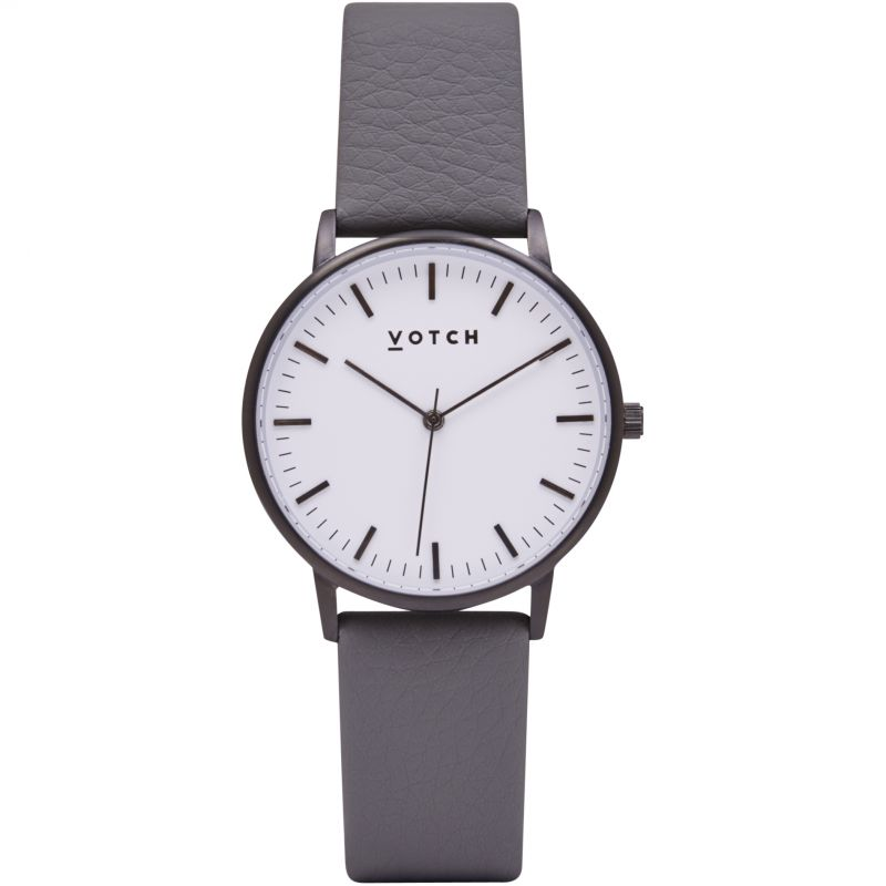 Ladies Votch The Black And White And Slate Grey 36mm Watch