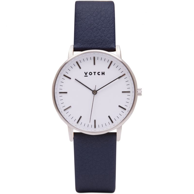 Ladies Votch The Silver And Navy 36mm Watch