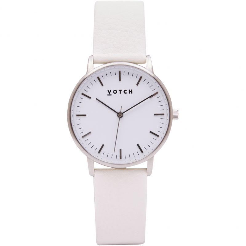 Ladies Votch The Silver And Off White 36mm Watch