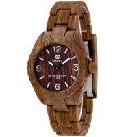 femme Marea Wood Look Watch 35297/6