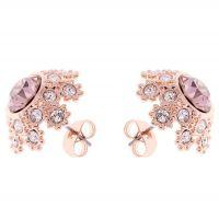 femme Ted Baker Jewellery Seraa Crystal Daisy Lace Stud Earring Watch TBJ1584-24-16