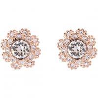 femme Ted Baker Jewellery Seraa Crystal Daisy Lace Stud Earring Watch TBJ1584-24-02