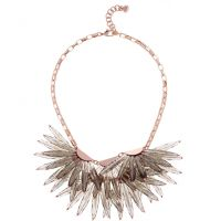 femme Ted Baker Jewellery Florenz Large Star Fringed Necklace Watch TBJ1548-24-23