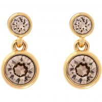 Ladies Karen Millen Gold Plated Crystal Dot Earring KMJ879-31-29