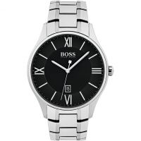 Hugo Boss Governor Herenhorloge Zilver 1513488