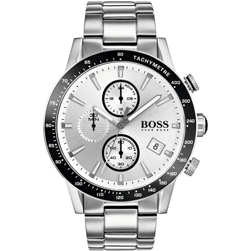 Mens Hugo Boss Rafale Chronograph Watch 1513511 by Watchshop