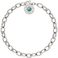 Ladies Thomas Sabo Sterling Silver Summer Charm Bracelet 14.5cm X0229-404-17-L14.5