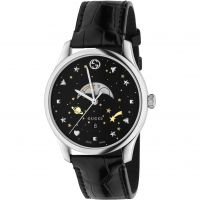 Gucci G-Timeless Slim Moonphase Herenhorloge Zwart YA126327