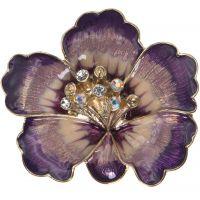 Damen Anne Klein vergoldet Blume Brooch