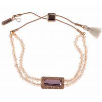 femme Lonna And Lilly Beaded Slider Bracelet Watch 60425372-D99