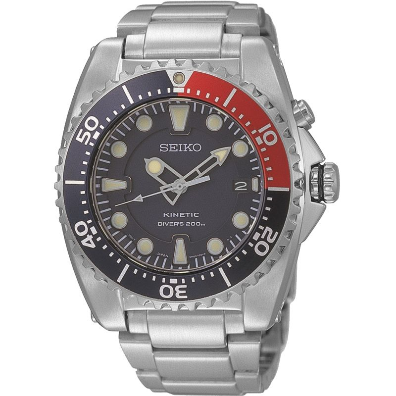 Mens Seiko Prospex Diver Kinetic Watch