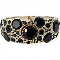 Biżuteria damska Karen Millen Jewellery Gem Disc Cuff Bangle KMJ1112-30-05