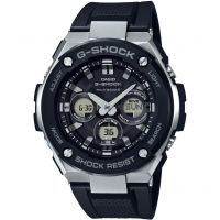 homme Casio G-Steel Midsize Alarm Chronograph Radio Controlled Tough Solar Watch GST-W300-1AER