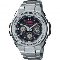 homme Casio G-Steel Midsize Alarm Chronograph Radio Controlled Tough Solar Watch GST-W310D-1AER