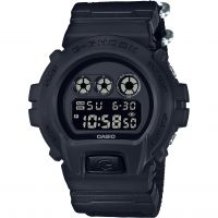 Hommes Casio G-Shock Blackout Cloth Série Alarme Chronographe Montre