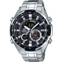 Mens Casio Edifice Thermometer Alarm Chronograph Watch