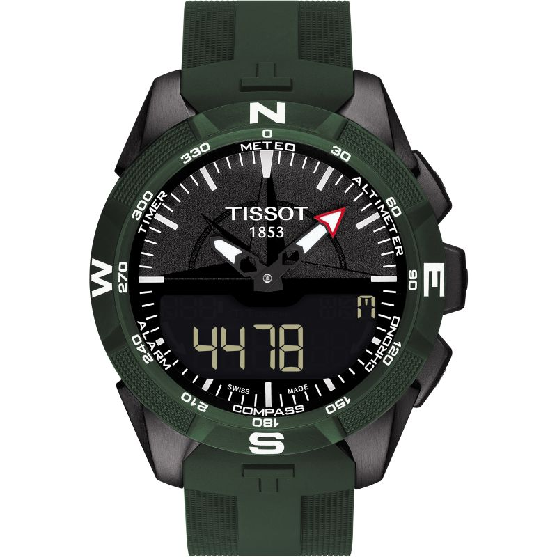 Mens Tissot T-Touch Expert Solar II Alarm Chronograph Solar Powered Watch