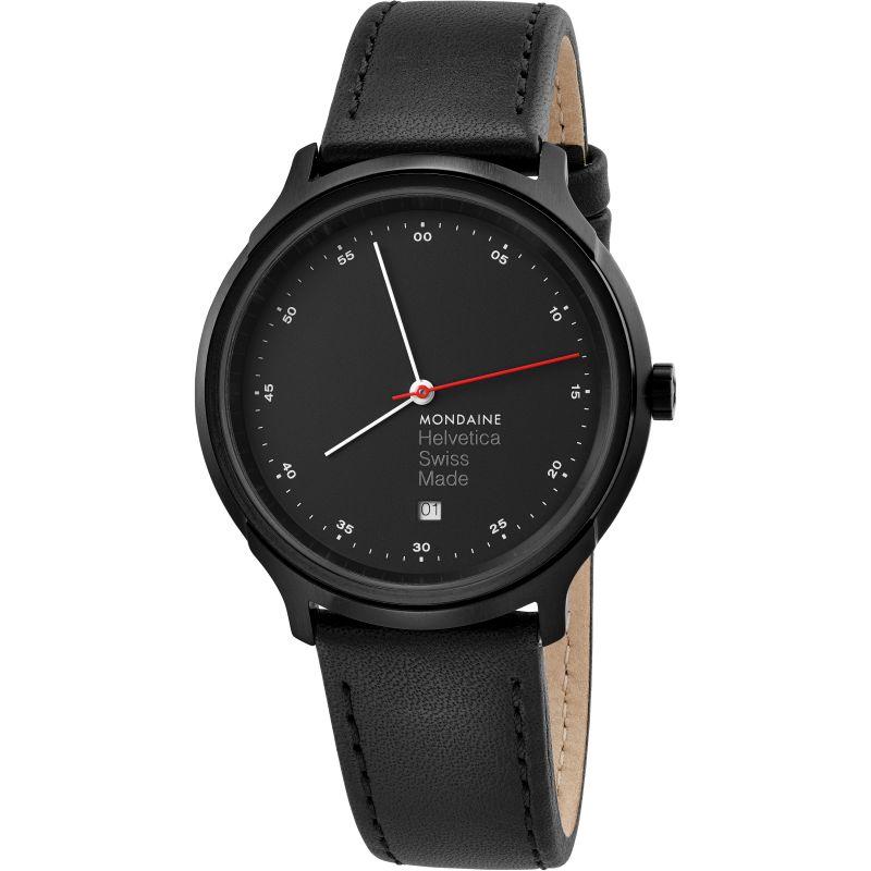 Unisex Mondaine Helvetica Regular Spiekermann Edition Watch