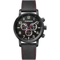 Herren Wenger Attitude Chrono Chronograph Watch 011543104