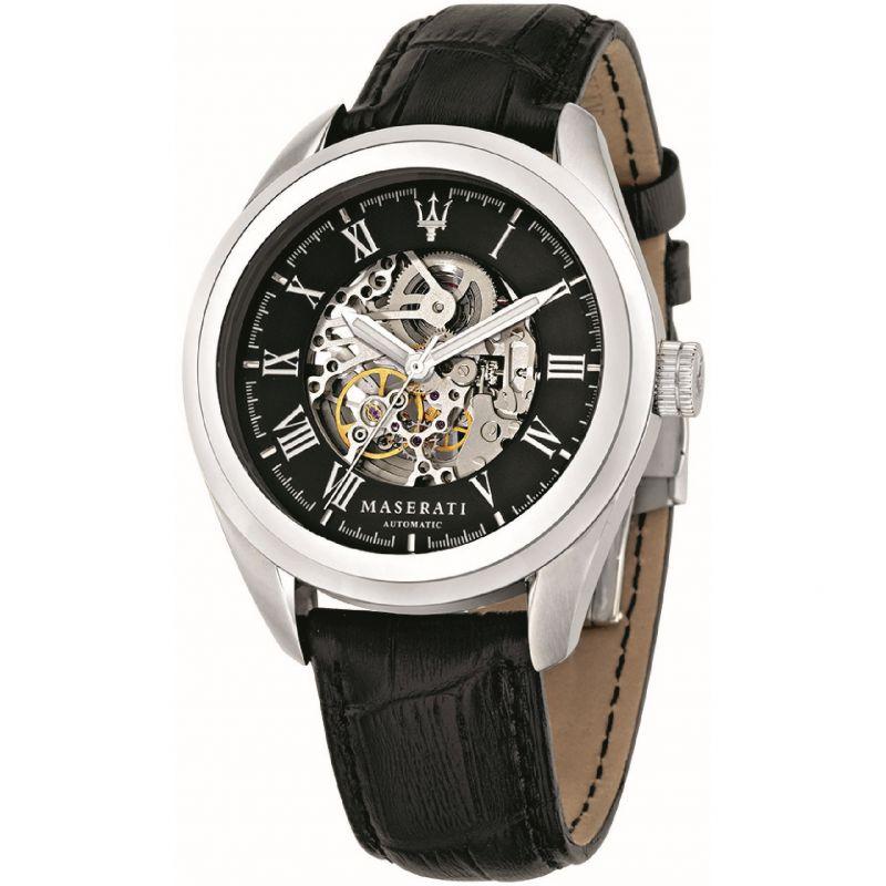 Mens Maserati Traguardo Automatic Watch