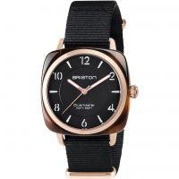 Damen Briston Clubmaster Chic Acetate Watch 17536.PRA.T.1.NB
