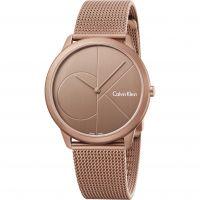 Damen Calvin Klein Minimal Watch K3M11TFK