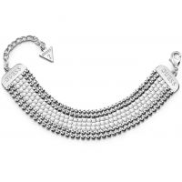 Damen Guess Silber Plated Mitternacht Glam Armband