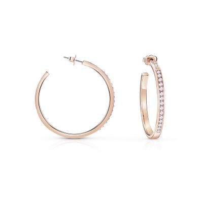 Ladies Guess G Colors Rose Gold Earrings
