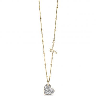 Ladies Guess Gold Plated My Sweetie Necklace UBN84041