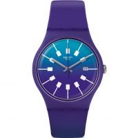 Unisexe Swatch Crazy Sky Montre