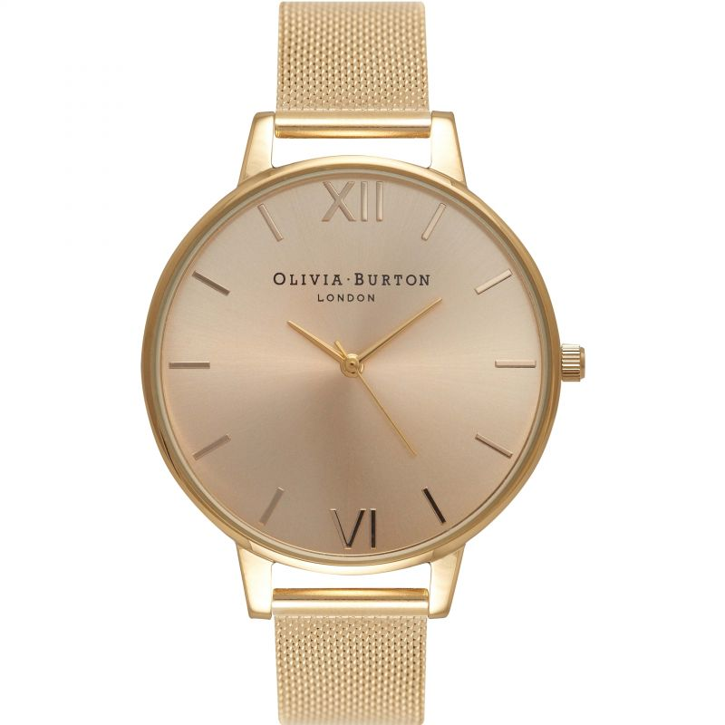 Sunray Dial Rose Gold & Gold Watch