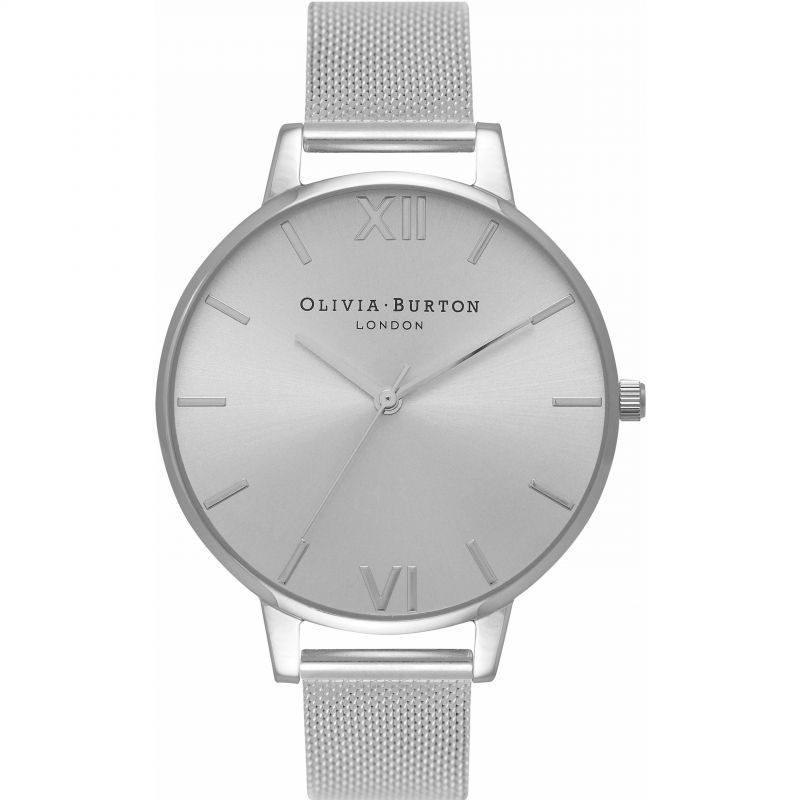 Sunray Dial Silver & Silver Watch