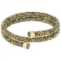 Ladies Swarovski Gold Plated Crystaldust Bracelet
